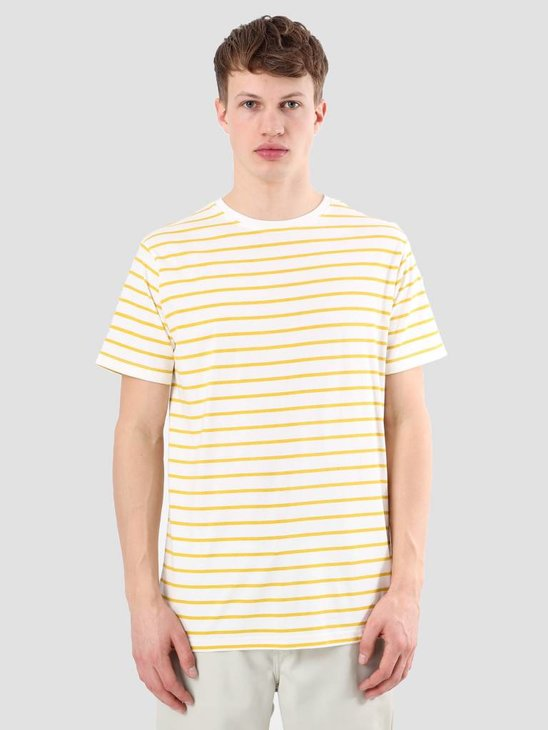 Kronstadt Nick White Yellow T-shirt KRSS18-KS2450
