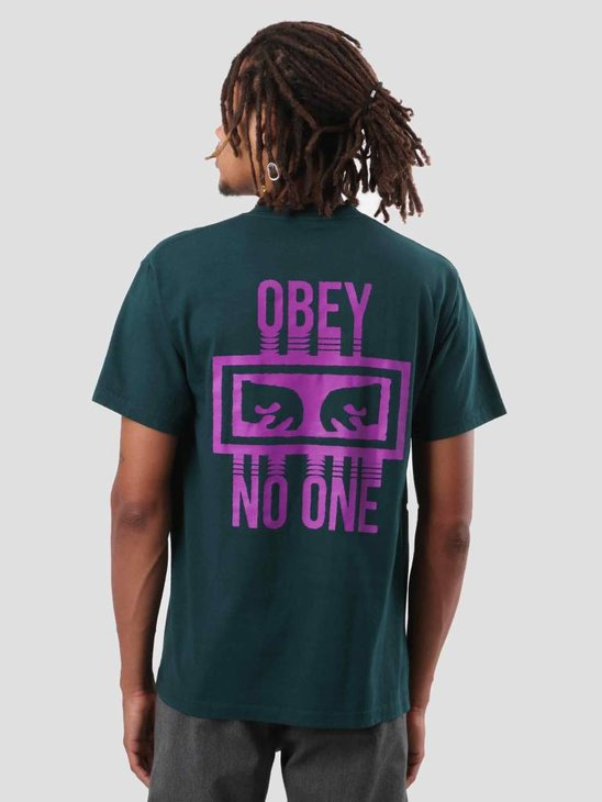 Obey No One T-Shirt Forest Pine 166911559