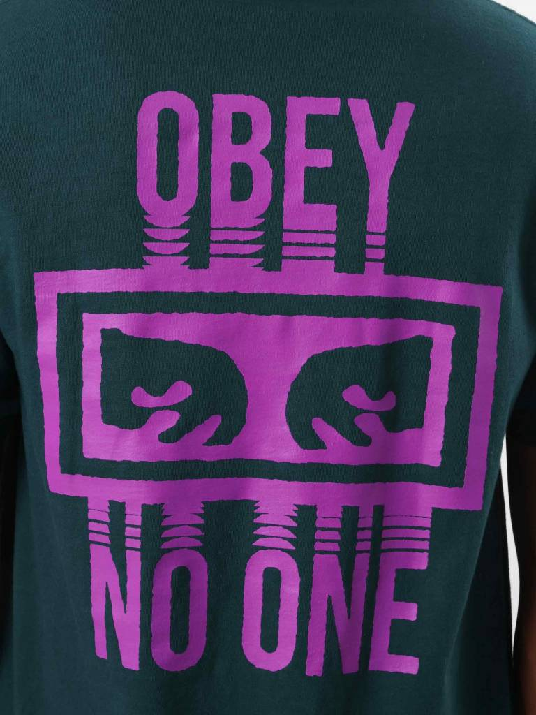 Obey Obey No One T-Shirt Forest Pine 166911559