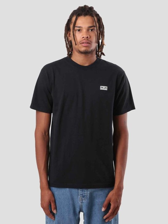 Obey No One T-Shirt Off Black 166911559