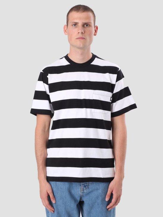 Stussy Nolan Stripe Jersey Black 1140081