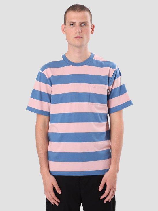 Stussy Nolan Stripe Jersey Blue 1140081