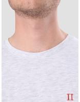 Les Deux Les Deux Norregaard T-Shirt Snow Melange LDM101008