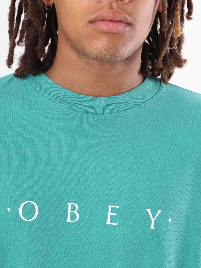 Obey Obey Novel Obey Longsleeve Dusty Teal Blue 166731578
