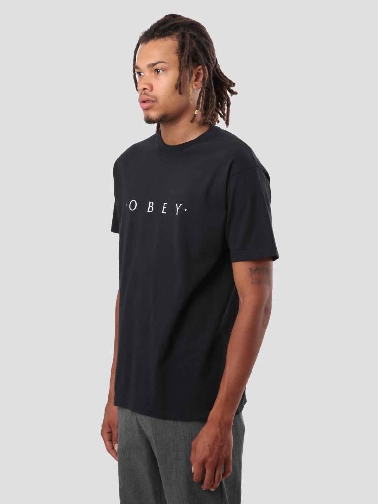 Obey Obey Novel Obey T-Shirt Black 166911578