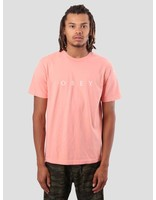 Obey Obey Novel Obey T-Shirt Coral 166911578