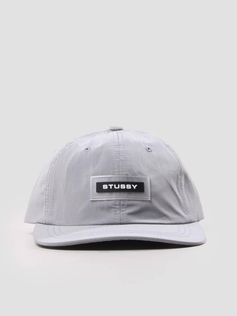 Stussy Stussy Np Ripstop Low Pro Cap Grey 131795