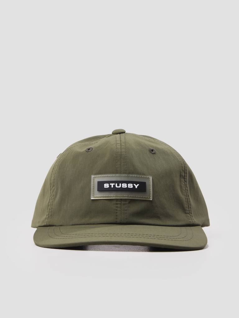 Stussy Stussy Np Ripstop Low Pro Cap Olive 131795