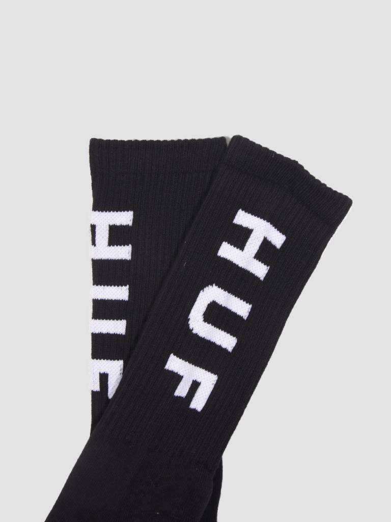 HUF HUF OG Logo Socks Black SK00239
