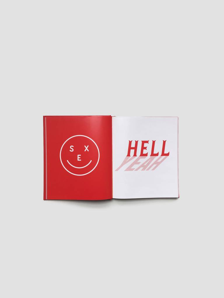 Ceizer Ceizer Oh Yes Hardcover Book Red & Gold