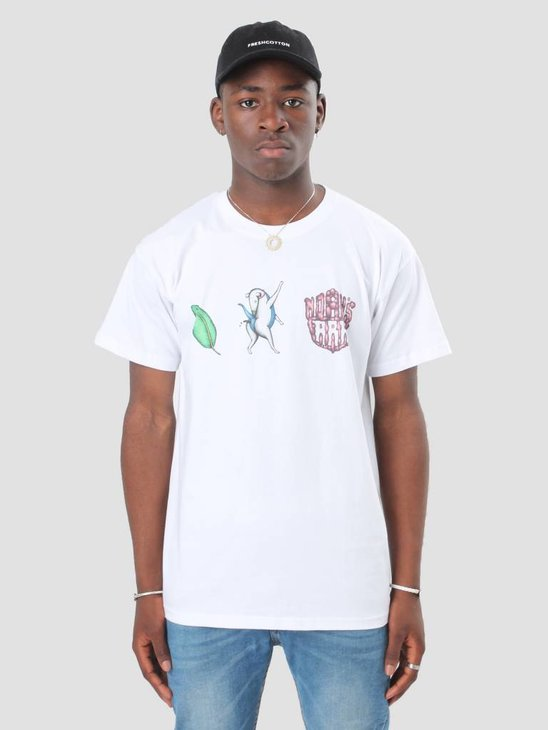 Noahs Ark Olf Triple Logo T-shirt White