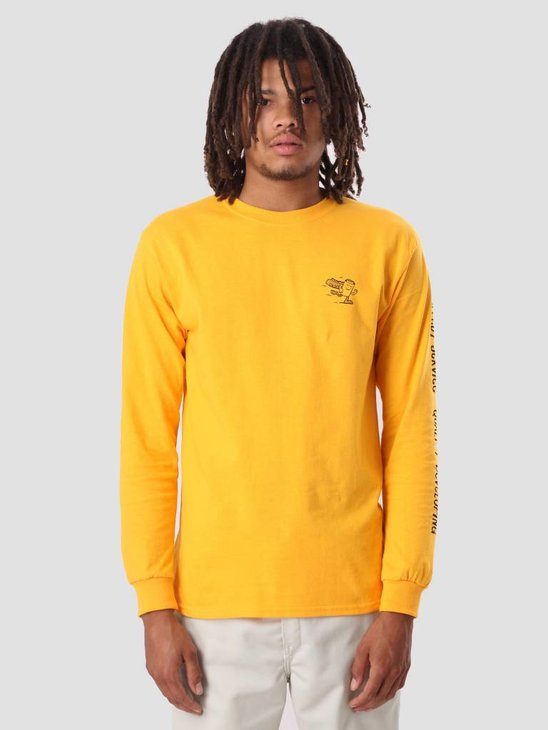 The Quiet Life One Hour Photo Longsleeve Gold 18SPD2-2142