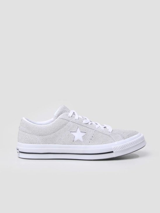 Converse One Star OX Ash Grey White White 158368C