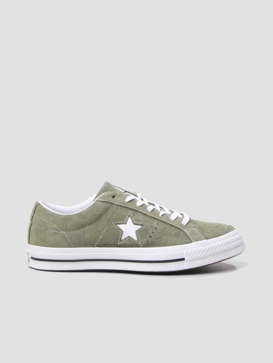 Converse One Star OX Field Surplus White White 161576C