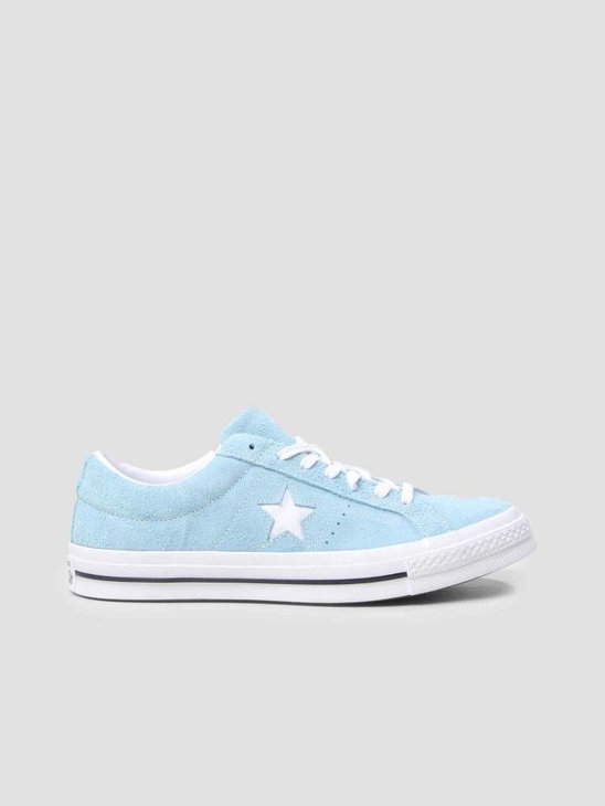 Converse One Star OX Shoreline Blue White White 161575C