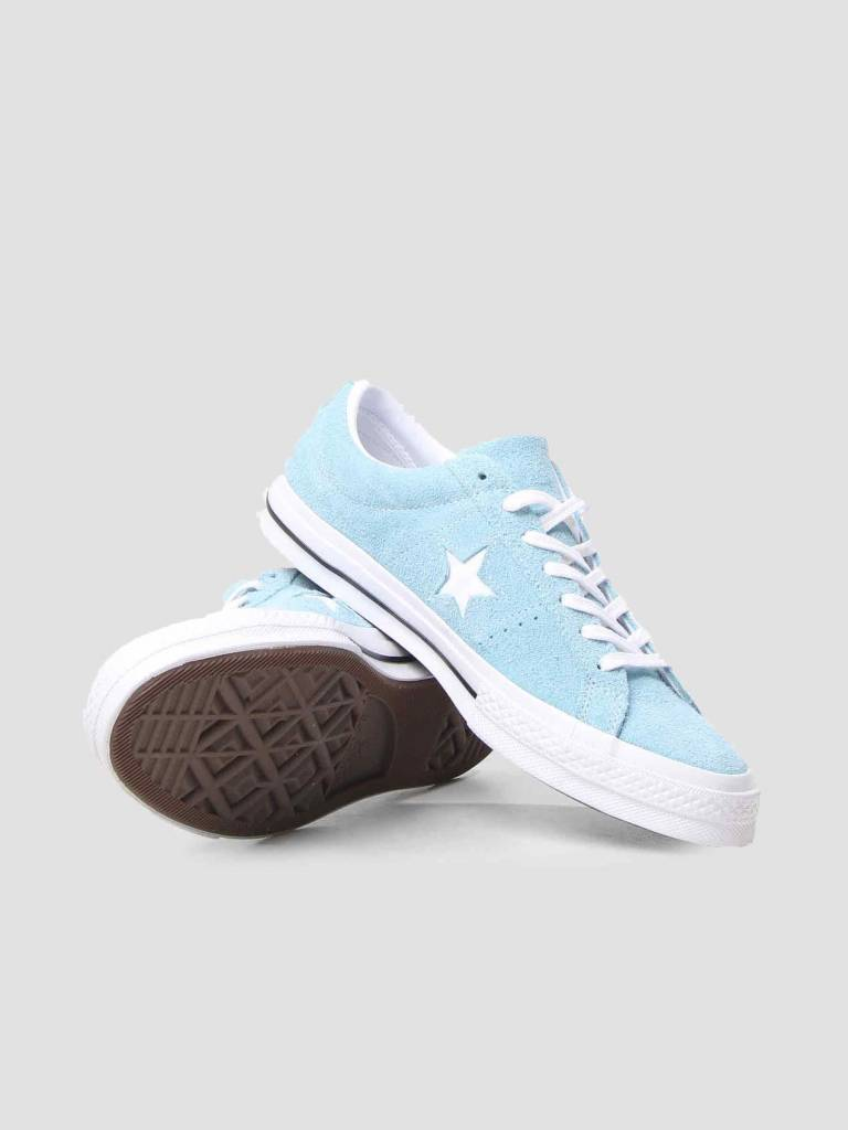 Converse Converse One Star OX Shoreline Blue White White 161575C