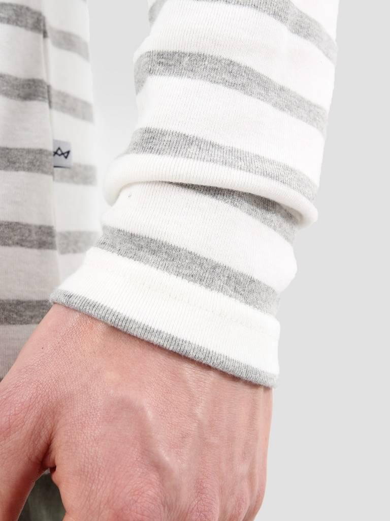 Kronstadt Kronstadt Oscar Tee Off White Grey Mell KRSS18-KS1162