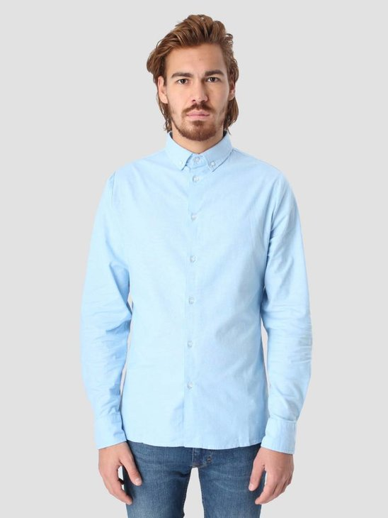 RVLT Oxford Shirt Light Blue 3004