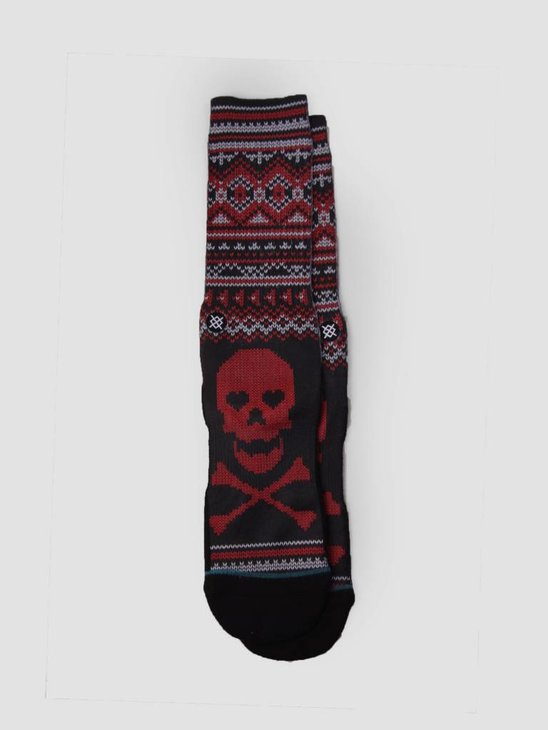 Stance Pair Of Hearts Socks Black M556A17Pai