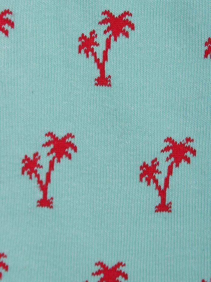 Alfredo Gonzales Alfredo Gonzales Palm Spring Socks Minty Fields Ag-Sk-Pa-06