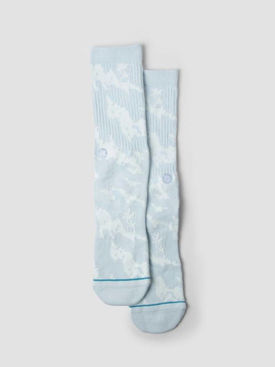 Stance Pixel Palms Socks Light Blue M556A18PIX