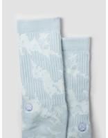 Stance Stance Pixel Palms Socks Light Blue M556A18PIX