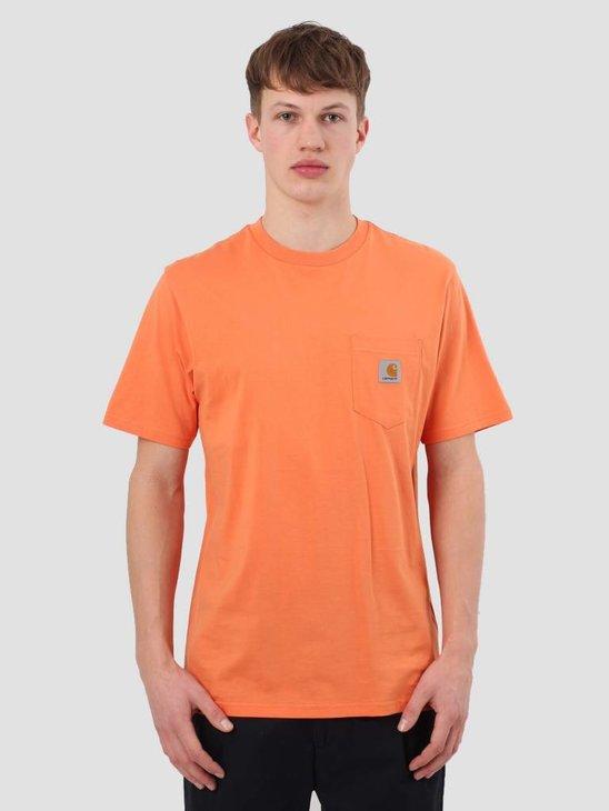 Carhartt WIP Pocket T-Shirt Jaffa I022091-96300