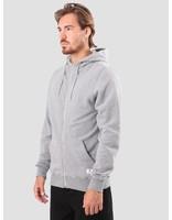 RVLT RVLT Preben Zip Hoodie Sweatshirt Grey Mel 2011