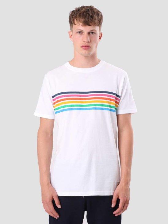 RVLT Printed T-Shirt White 1975 RAI