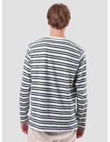 Quality Blanks Quality Blanks QB97 Double Stripe Longsleeve Pineneedle