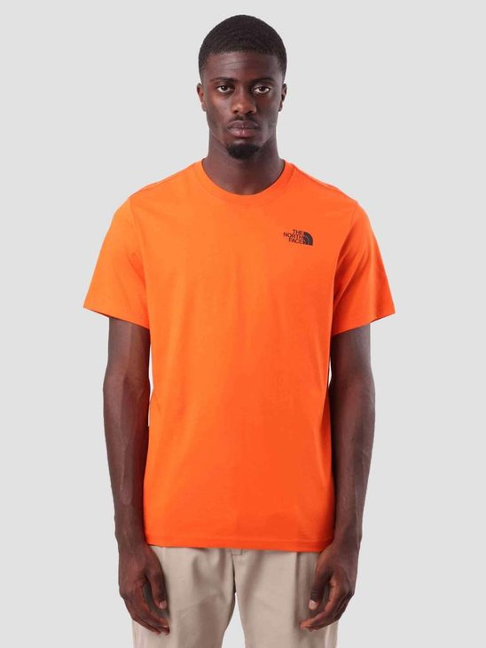 The North Face Red Box T-Shirt Persian Orange T92TX2V0W
