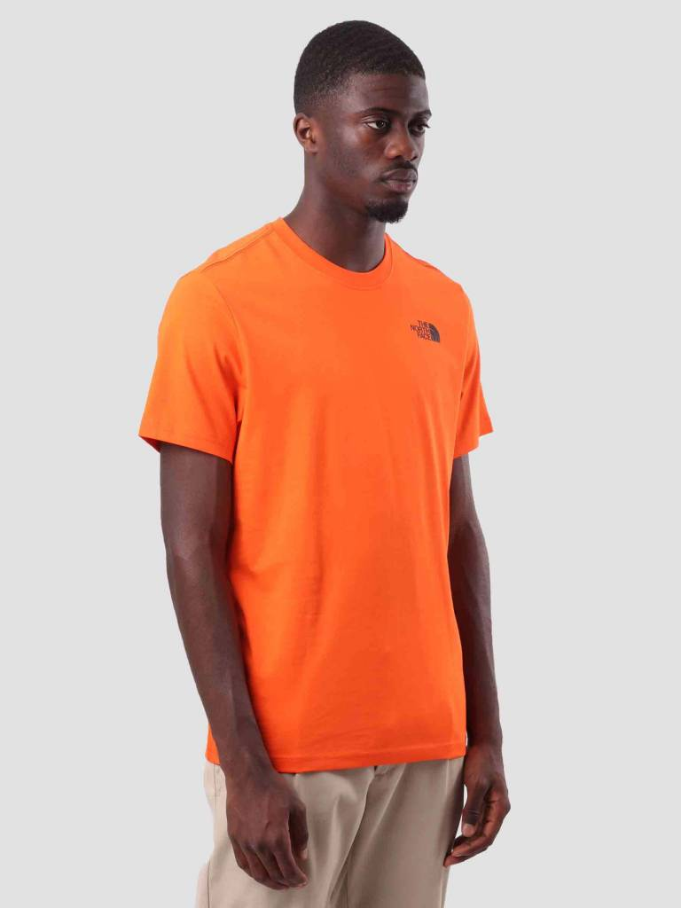 The North Face The North Face Red Box T-Shirt Persian Orange T92TX2V0W