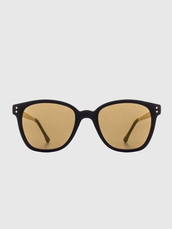 Komono Renee Sunglasses Metal Black/Gold Kom-S1716