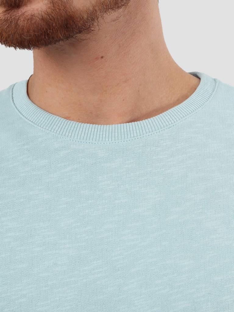RVLT RVLT Rib Detail Sweater Light Blue 2006