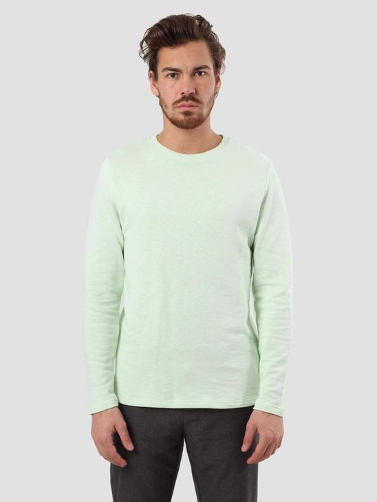 RVLT Rib Detail Sweater Light Green 2006