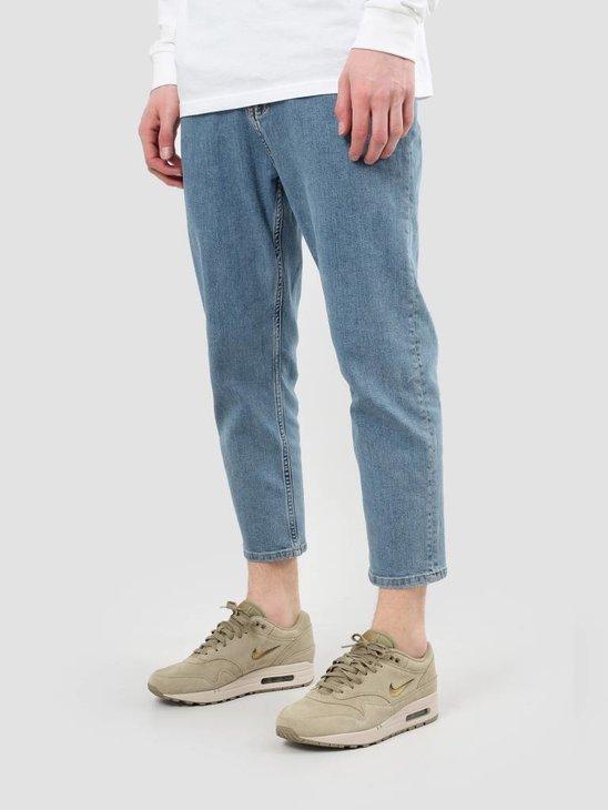 RVLT Rinsed Wash Jeans Crop Blue 5506