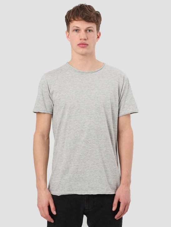 RVLT Rolled Edges T-Shirt Grey 1003