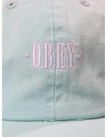 Obey Obey Rosa 6 Panel Snapback Mint 100580134