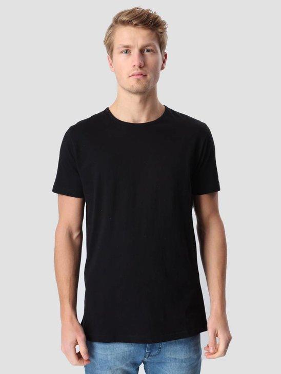 RVLT Round Neck T-Shirt Black 1001