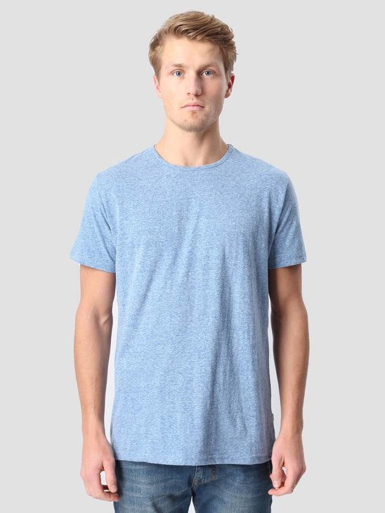 RVLT Round Neck T-Shirt Bright Blue 1001