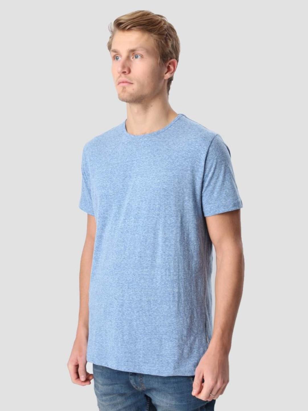 RVLT RVLT Round Neck T-Shirt Bright Blue 1001