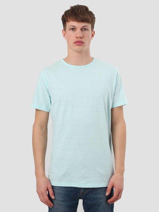 RVLT Round Neck T-Shirt Mint Melange 1001