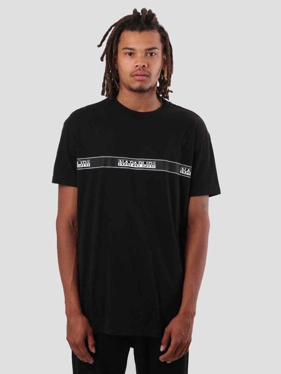 NAPAPIJRI Sagar T-Shirt Black N0YHUD041