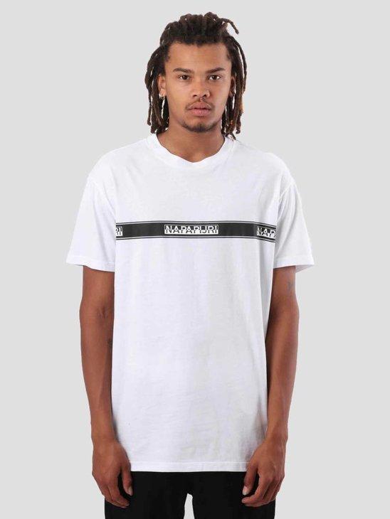 NAPAPIJRI Sagar T-Shirt Bright White N0YHUD002