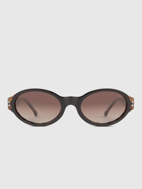Komono Sam Black Tortoise Sunglasses KOM-S4100