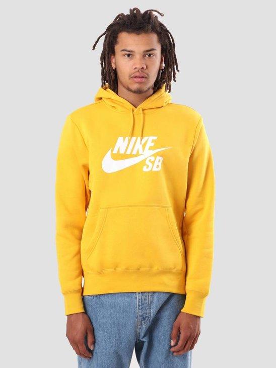 Nike Sb Icon Yellow Ochre White Aj9733-752