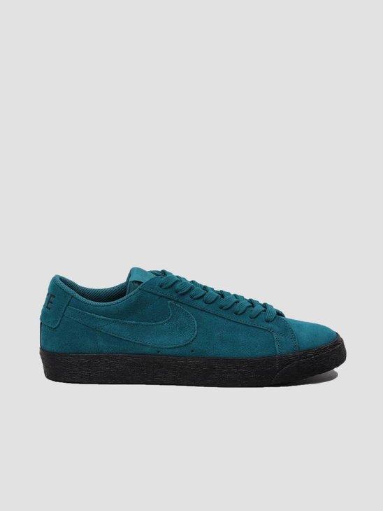 Nike SB Zoom Blazer Low Geode Teal Geode Teal-Black 864347-300