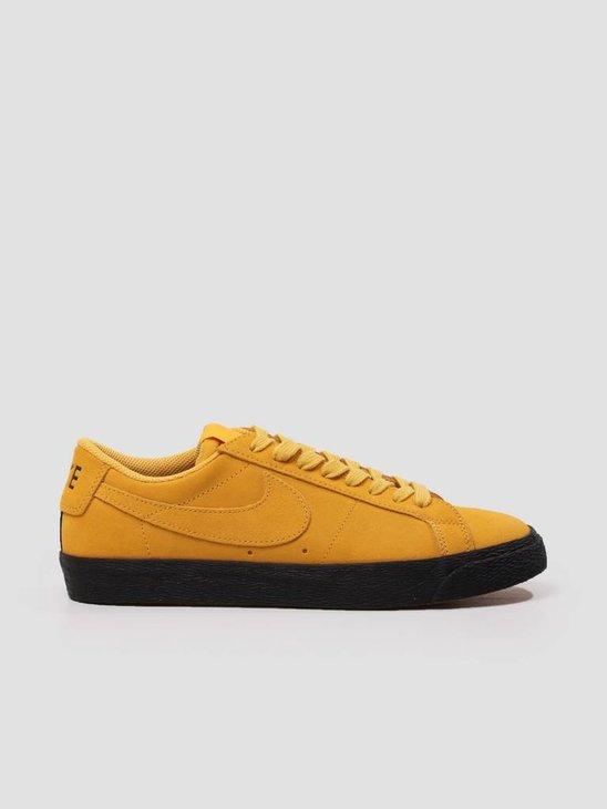 Nike SB Zoom Blazer Low Yellow Ochre Yellow Ochre-Black 864347-701