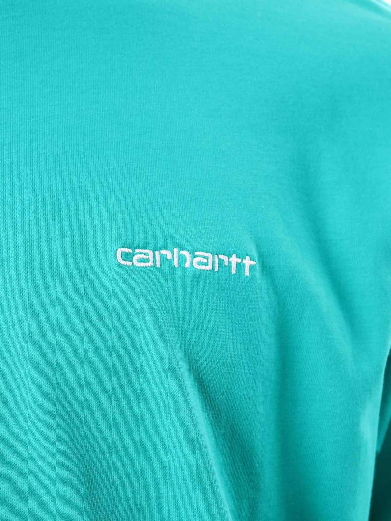 Carhartt WIP Carhartt WIP Script Embroidery T-Shirt Cauma White I025778-89390