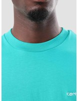 Carhartt Carhartt Script Embroidery T-Shirt Cauma White I025778-89390